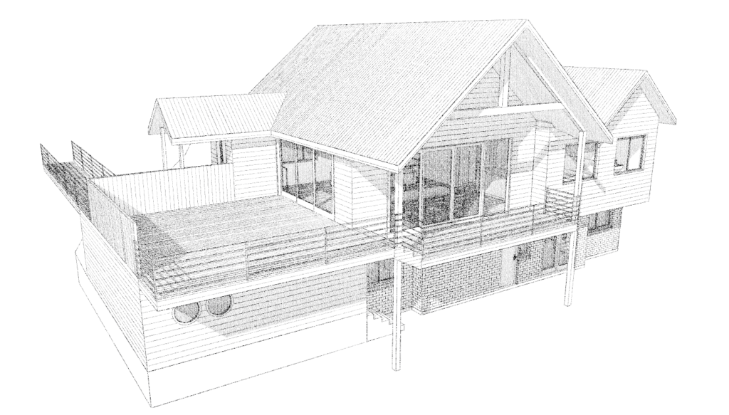 160 suburban home extension design